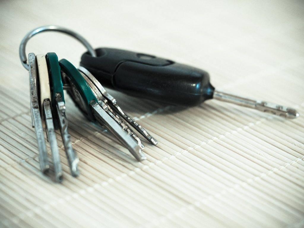 Chaveiro de Carro keys